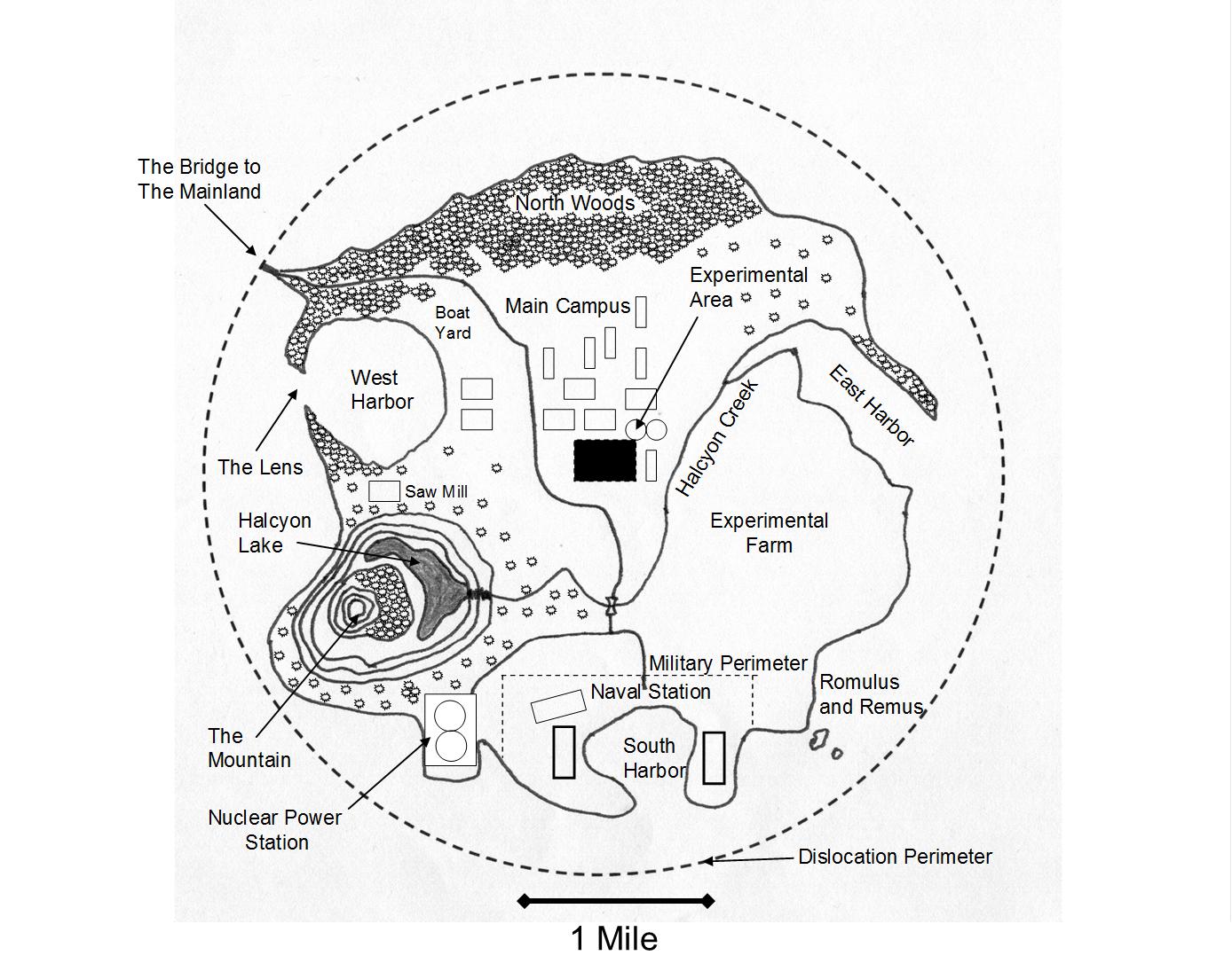 The Island University of Halcyon